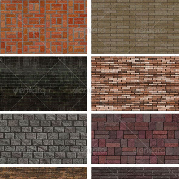 8 Brick Wall Backgrounds