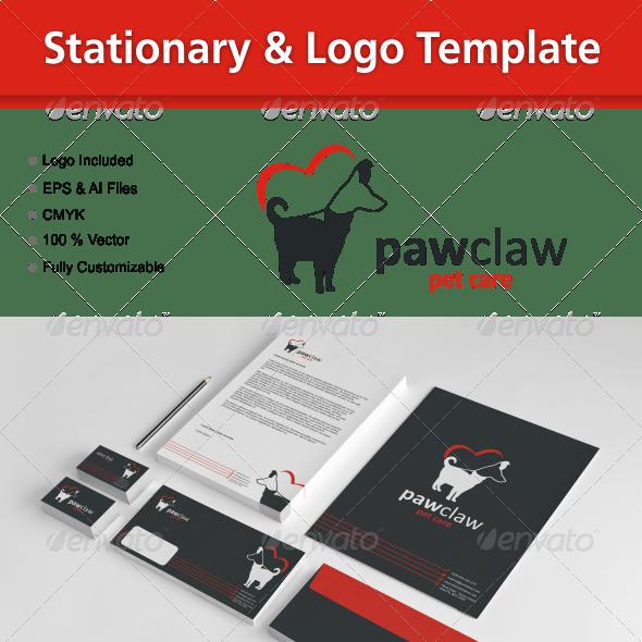 Stationary & Logo Template