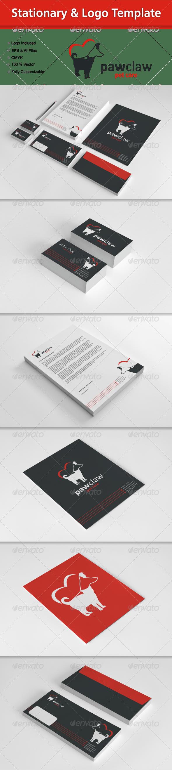 Stationary & Logo Template - Stationery Print Templates
