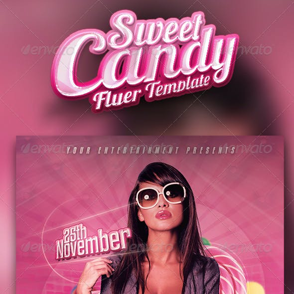 Sweet Candy Flyer Vol. 3