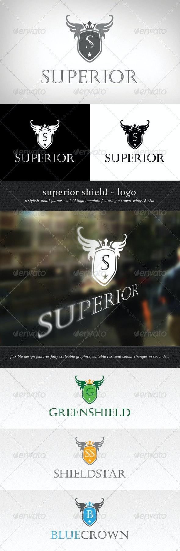 Superior Shield Logo - Crests Logo Templates