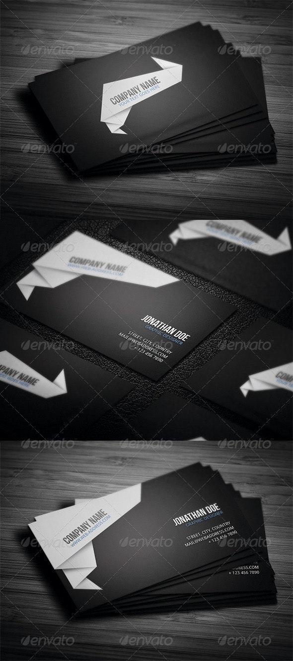 Corporate Business Card N4 - Corporate Business Cards