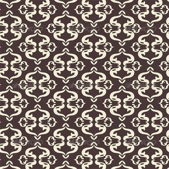 Vector Arabic Pattern Illustration - Backgrounds Decorative