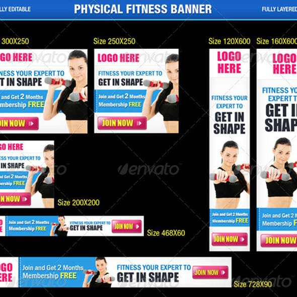 Physical Fitness Banner