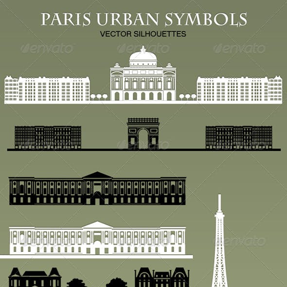 Paris Urban Symbols