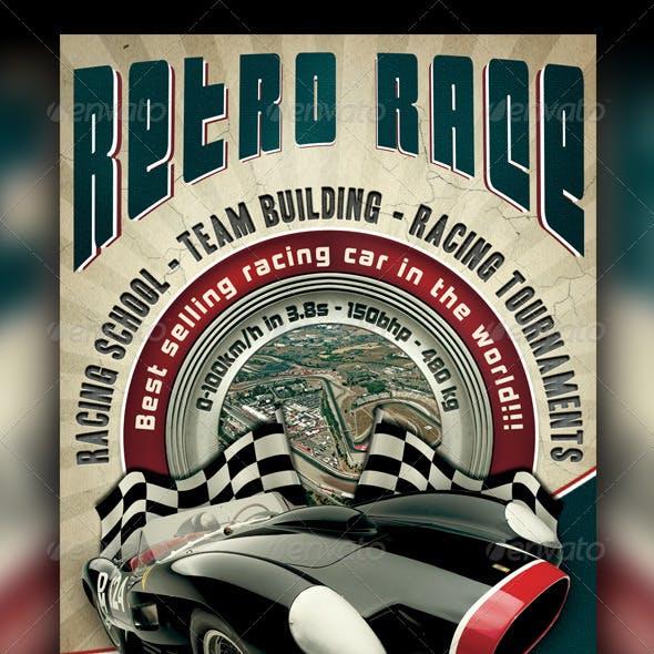 Auto Retro Flyer