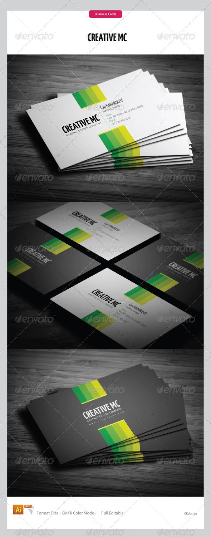Corporate Business Cards 206 - Corporate Business Cards