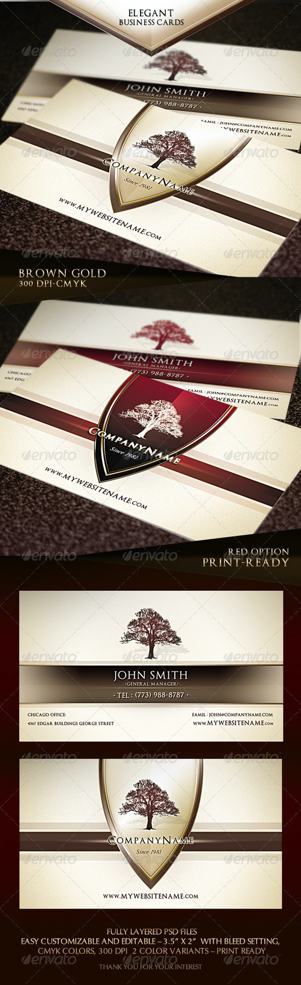 Elegant Business Cards - Creative Business Cards