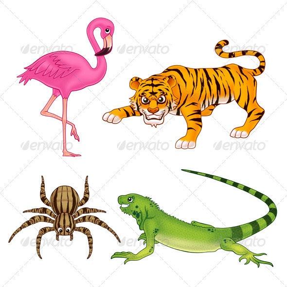 Animals 3 - Animals Illustrations