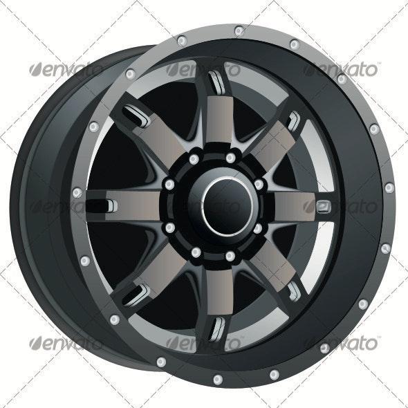 Automobile Vector Rim - Objects 3D Renders
