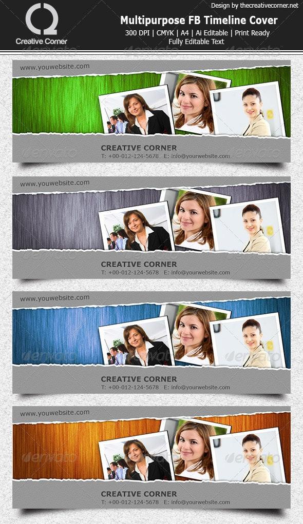 Multipurpose FB Timeline Cover - Facebook Timeline Covers Social Media