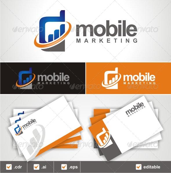 MOBILE MARKETING LOGO - Symbols Logo Templates