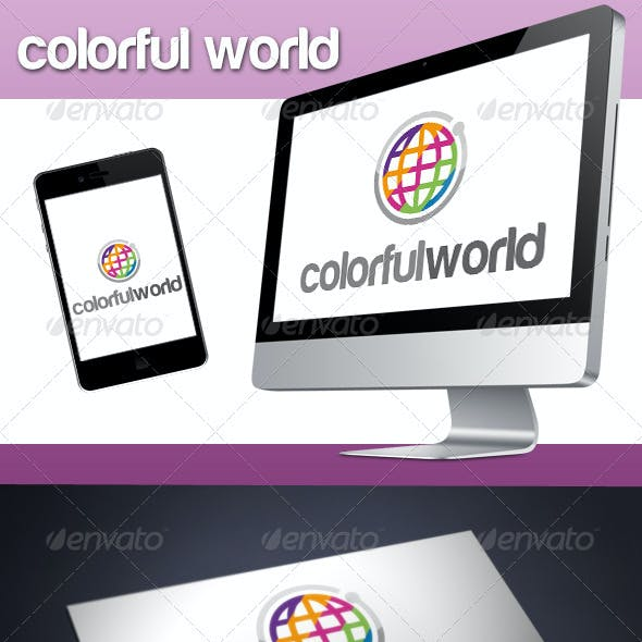 Colorful World Logo