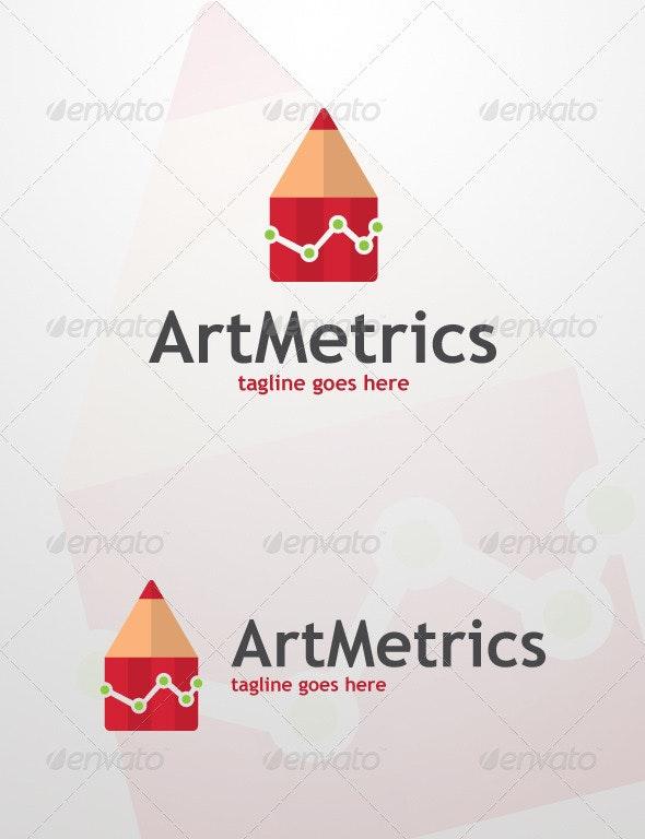 ArtMetrics Logo Design - Abstract Logo Templates
