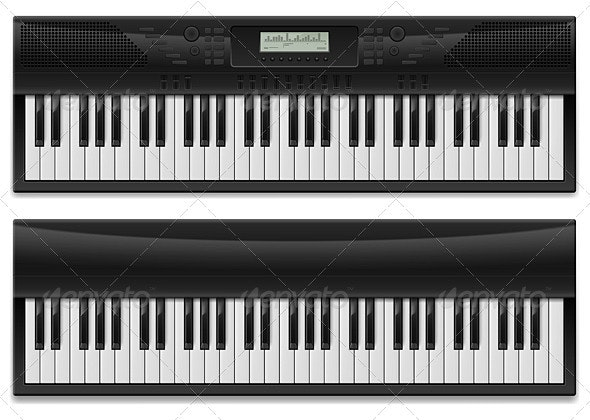 Two realistic synthesizer - Media Technology
