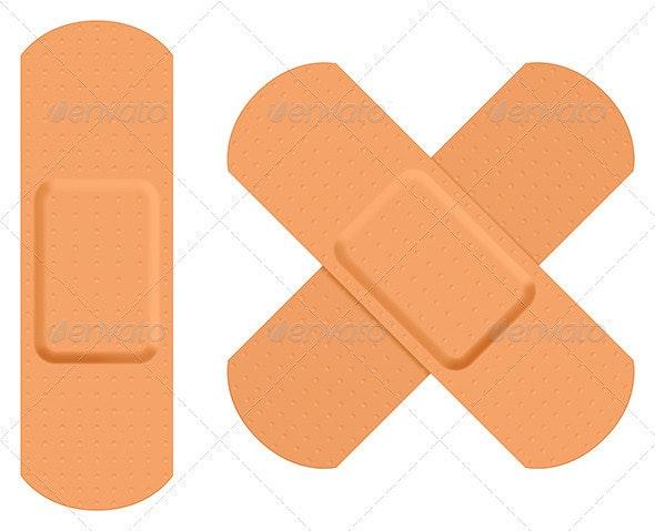 First Aid Plaster - Health/Medicine Conceptual