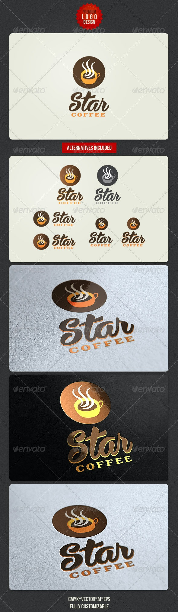 Coffee House Logo Design - Food Logo Templates