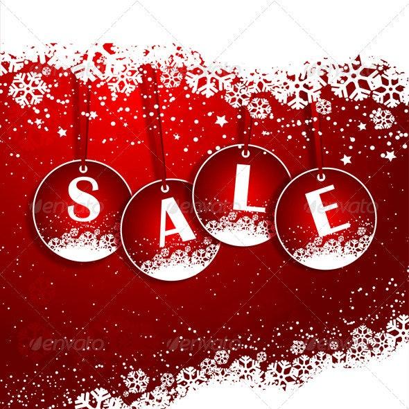 Christmas sale background - Christmas Seasons/Holidays