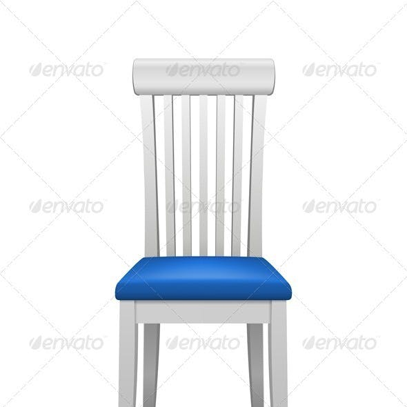 Vector isolated chair