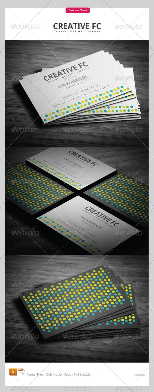 corporate business cards 207 - Creative Business Cards