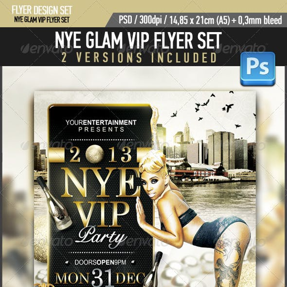 New Years Eve Glam VIP Party