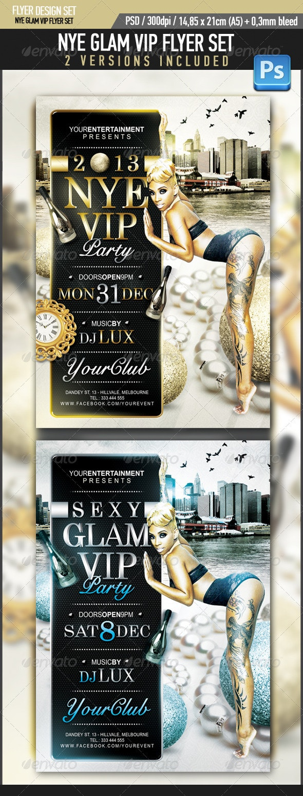 New Years Eve Glam VIP Party - Clubs & Parties Events