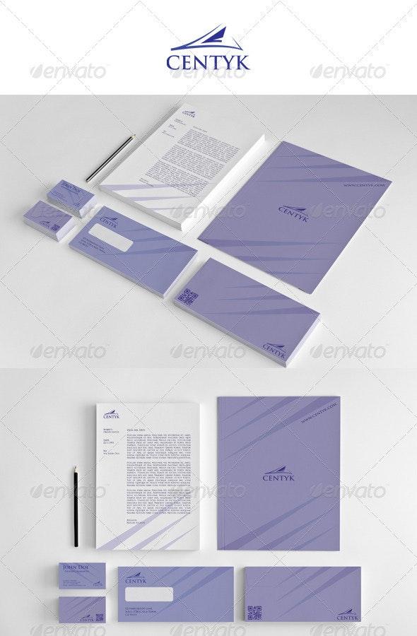 Corporate Startioney Centyk - Stationery Print Templates