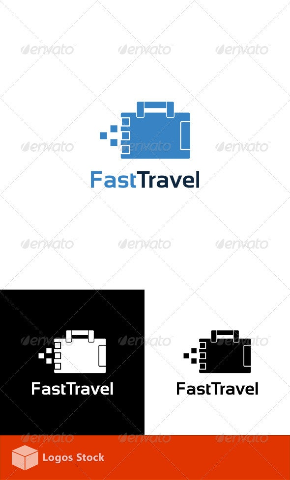 Fast Travel Logo Template - Objects Logo Templates