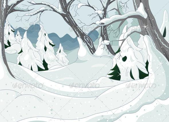 Winter Forest - Landscapes Nature