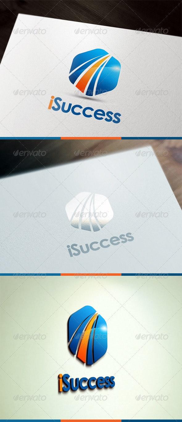 I Success - Abstract Logo Templates