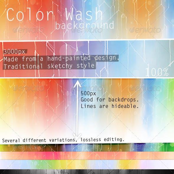 Paint Wash Background V1