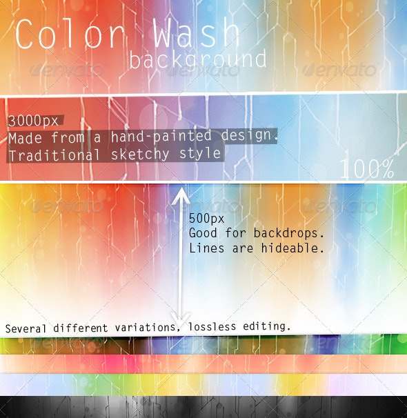 Paint Wash Background V1 - Backgrounds Graphics
