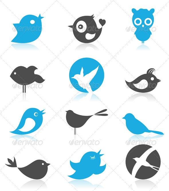 Birdie 7 - Animals Characters