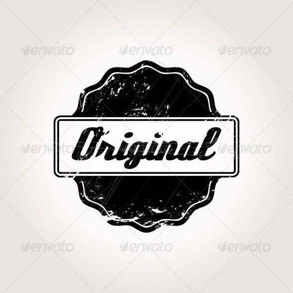 Vintage Symbol for Labels and Stamps