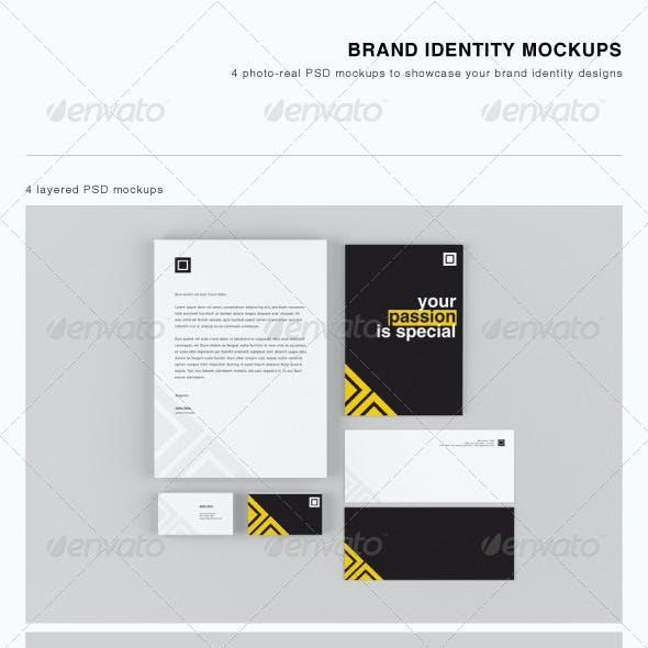 Brand Identity Mockups