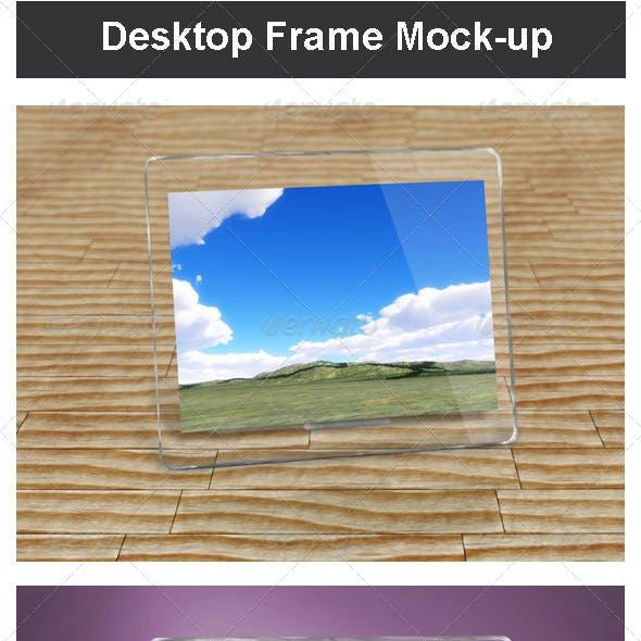 Desktop Frame Mock-up