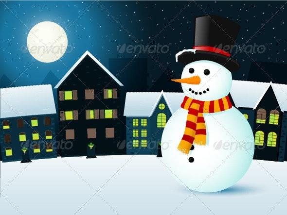 Winter Town - Seasons/Holidays Conceptual