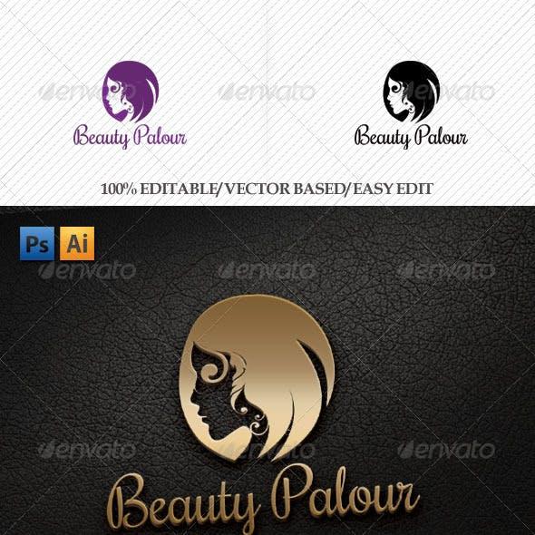 Beauty Palour Logo Template