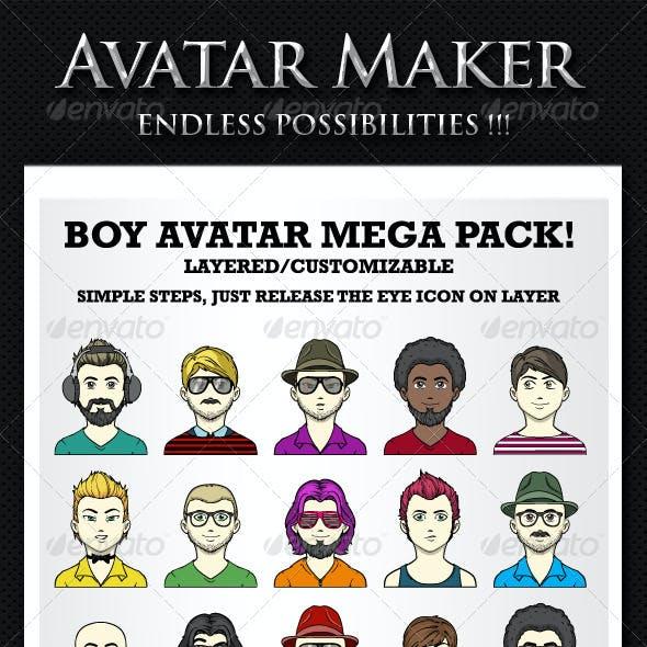 Avatar maker - Boys avatar creator