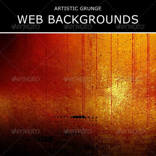 Artistic Grunge Web Backgrounds