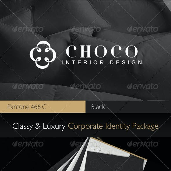 Choco Luxury Corporate Identity Package