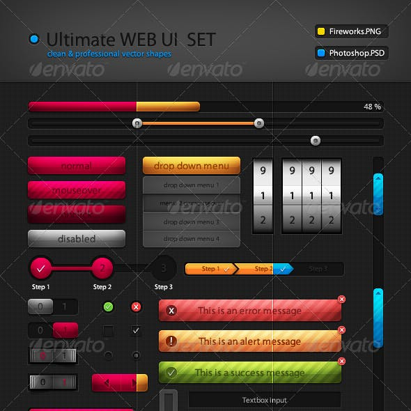 Ultimate Web UI Set