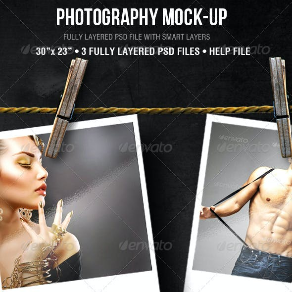 Photography Mock-up