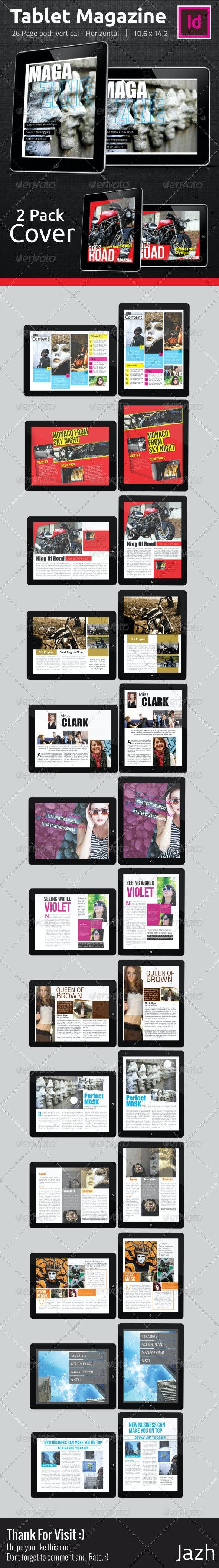 Tablet Magazine Pro E2 - Magazines Print Templates