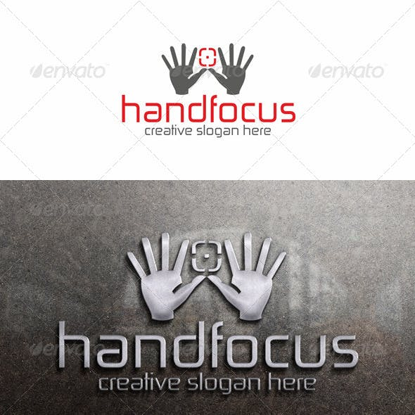 Manual Focus - Photo Logo Template