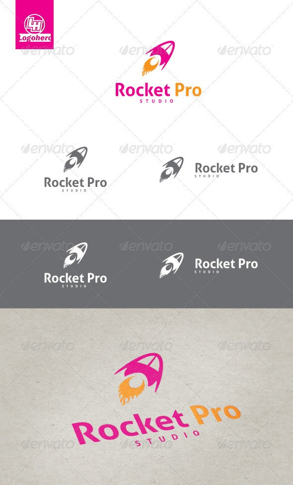 Rocket Pro Logo Template - Objects Logo Templates