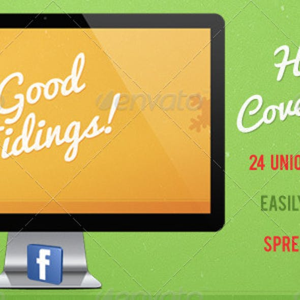 12 FB Timeline Covers For The Holidays!