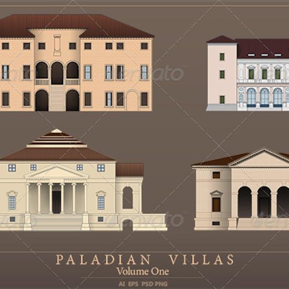 Palladian Villas - Volume 1