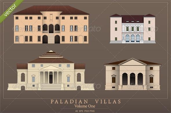 Palladian Villas - Volume 1 - Buildings Objects
