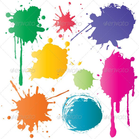 Set of Color Stains